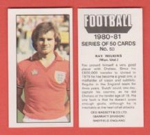 Manchester United Ray Wilkins 50